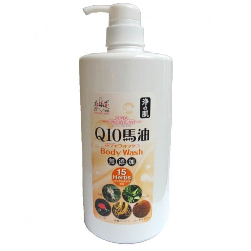 浄の肌Q10馬油沐浴液 1,000ml