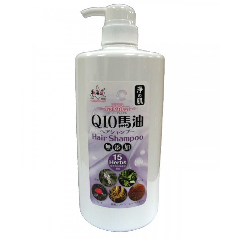 浄の肌Q10馬油洗頭水 1,000ml