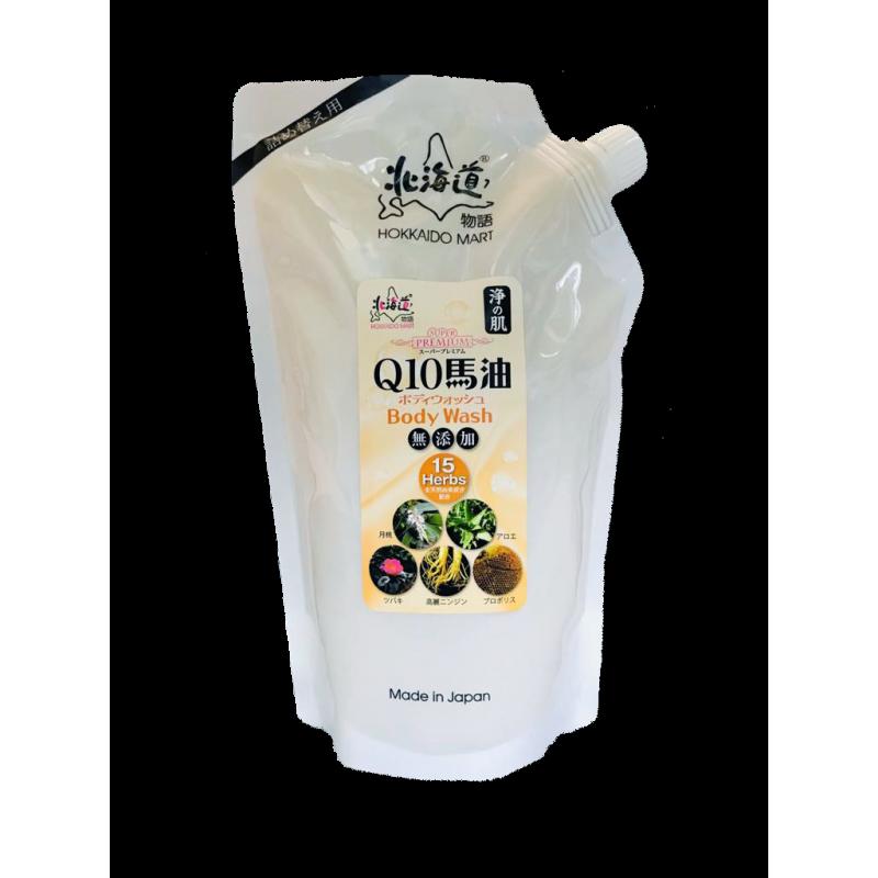 浄の肌Q10馬油沐浴液 (環保補充裝 1,000ml)