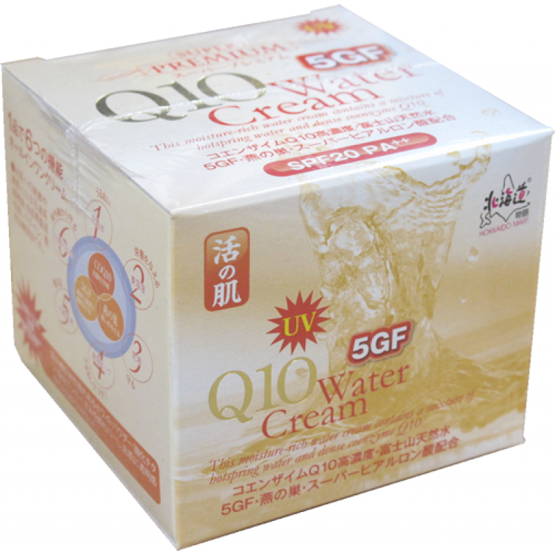 活の肌 UV Q10 5GF Water Cream (100g)