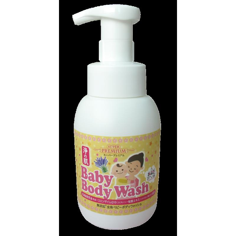 浄の肌 Baby Body Wash洗髮沐浴泡泡 (300ml)
